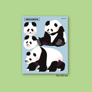 ジャイアントパンダのシール