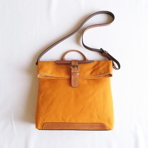 Paraffin canvas messenger bag ORANGE