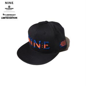 NINE RULAZ LINE × DRYGOODS COMFORT LIMITED CAP BK/ORNGE/BLUE
