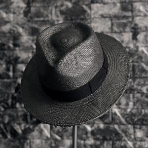 CLASSIC PANAMA HAT - BLACK × BLACK