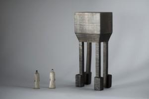 (036)wood figure-mini &structure 箱入 022