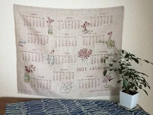 布カレンダー 2021