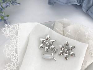 Joyeux <silver x pearlywhite> 3pcs set