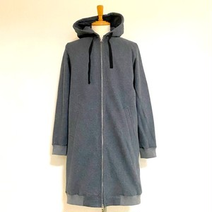 【予約商品:9月26日午後予定】Light Weight Long Parka Moku Charcoal