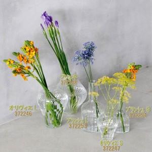 リューズガラス ワイズライン フラワーベース S 全2種類