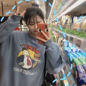 【アウター】ファッション原宿風カートゥーンスウィートパーカー
