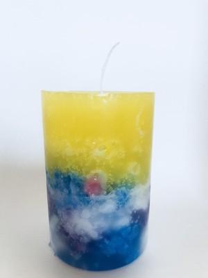 pillar candle M_b