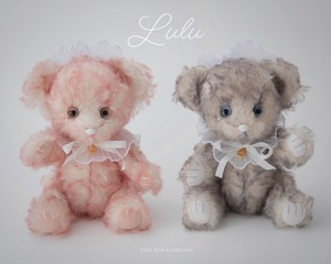 """Zaza Bear × Kira Imai Collabo Bear """" Lulu """" 〈 受注生産 〉"""
