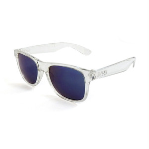 DANG SHADES LOCO RAISED Crystal Clear X Blue Mirror Polarized(偏光レンズ)