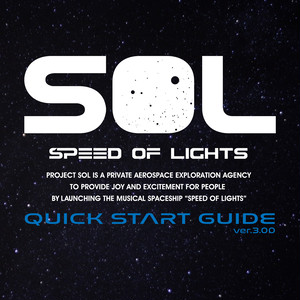 "SPEED OF LIGHTS ""QUICK START GUIDE ver.3.00"" CD"