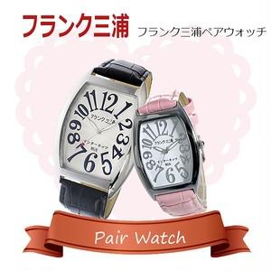 【ペアウォッチ】フランク三浦 インターネッツ別注  腕時計 FM06IT-WH FM00IT-SVPK