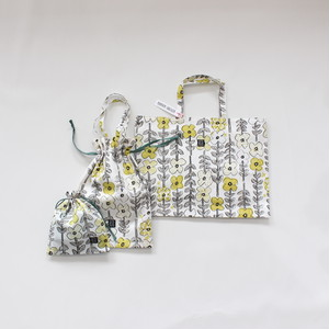 相原暦 Bag 3set   hanabatake  yellow