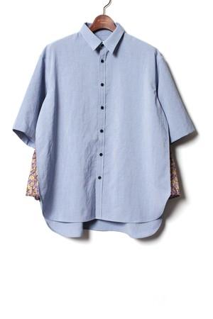 Side Shining Shirt -blue <LSD-BA1S6>