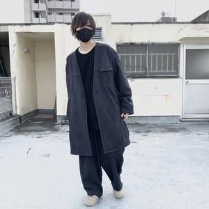 Nocolor-Jacket/Tapered-Pants Set-Up (black)