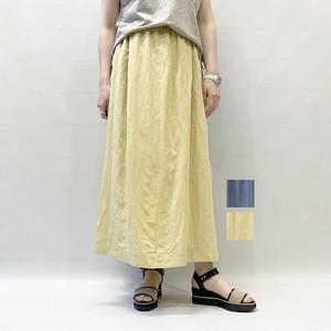 FLORENT(フローレント) Linen Long Skirt 2021春夏新作 [送料無料]