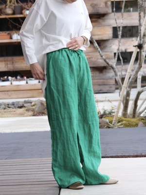AUG【Relax Pants Green】Women WN