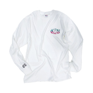 LONG SLEEVE T-SHIRT(White)