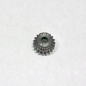 LAB-4819 ドリフトスチールピニオンギヤ 48P 19T