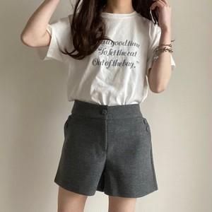 simple short pants[2102-30]