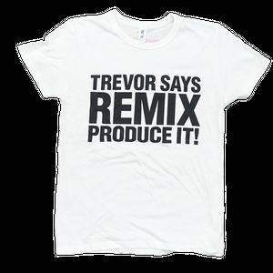 TREVOR HORN REMIX Tシャツホワイト