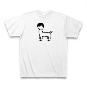 じんめんアルパカTシャツ