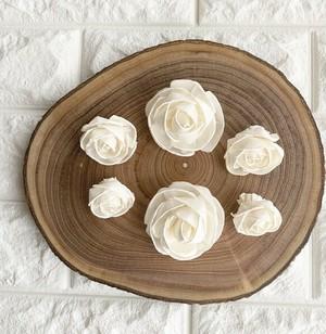 *サノフラワー♡薔薇3種類お買い得セットS-15* 6個セット *