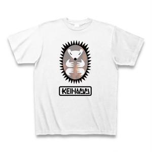 keihamm ハリネズミ Tシャツ (ホワイト)