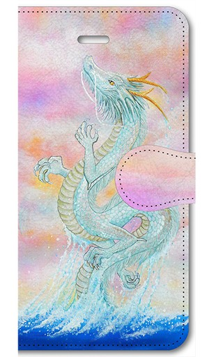 【iPhone5/5s/SE】龍宮神 RyuGuJin Divine Dragon 手帳型スマホケース