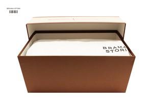 BRAMA STORI-RIN-クルーネックスウェットシャツ(ホワイト/レディース)