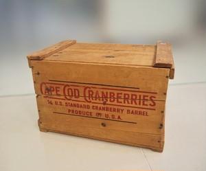 品番WB-006 木箱 / Wooden Box(CAPE COD CRANBERRIES)