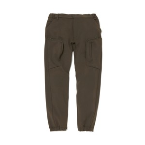 JERSEY TECH CARGO PANTS - KHAKI