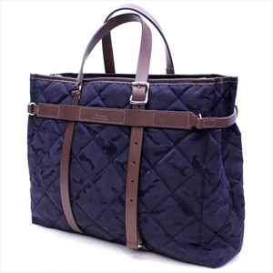 Lagasha 「BRIDGE MILITARY QUILT」TOTE <NAVY>