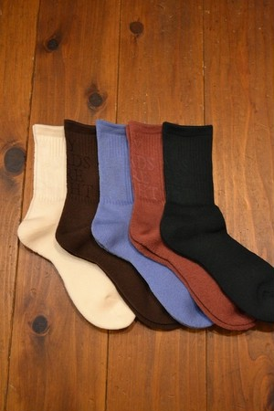 MY LOADS ARE LIGHT / Lettered Socks Merino collection