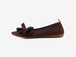 pointed-FRIN / BLUE & BROWN
