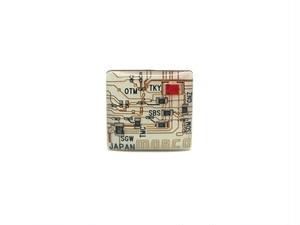 東京回路線図 ピンズ 東京 白【回路線図ステッカー4種セットプレゼント】