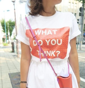 WHAT DO YOU THINK Tシャツ