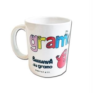 BARBAPAPA×gramo コラボ マグカップ「MUG」(lesson/MG-013)