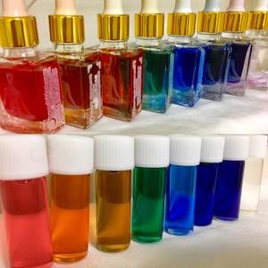インナーチャイルドメッセージオイル (チャクラオイル8種類)通常ボトルセット