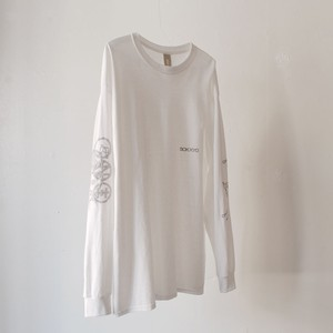 """ SOK KYO"" SHOW ON L/S Tee White"