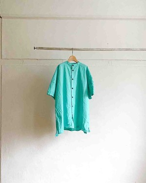 【yarmo 】Side Open S/SLV Shirts