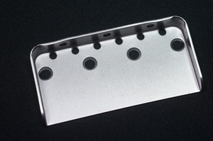 Telecaster Titanium Bridge Plate small