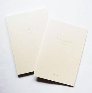 L/R BRAIN スケジュール帳、ノートセット(しおり付)