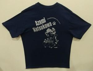 たぬきTシャツ(半袖・バックプリント)