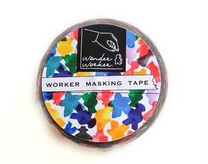 ワーカーたちのマスキングテープ