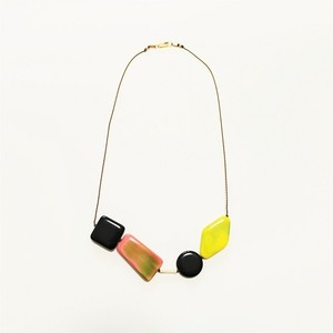 I.Ronni Kappos/ネックレス PINK×YELLOW×BLACK