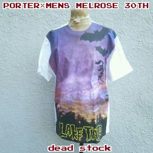 【限定】デッドストック/ポーターPORTER×メンズメルローズMEN'S MELROSE/30周年記念/クリア/ビニールトート/Tシャツ/セット/3/
