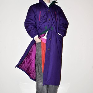 Vintage padded long coat