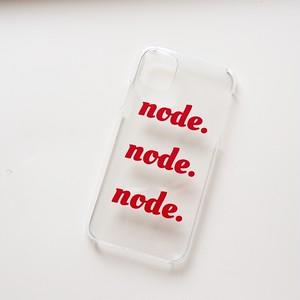 node.original iPhone case【iPhone11対応】