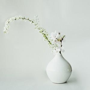 一輪挿し 中 花器 陶器