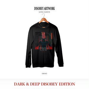 Disobey Artwork Long Sleeve / Black
